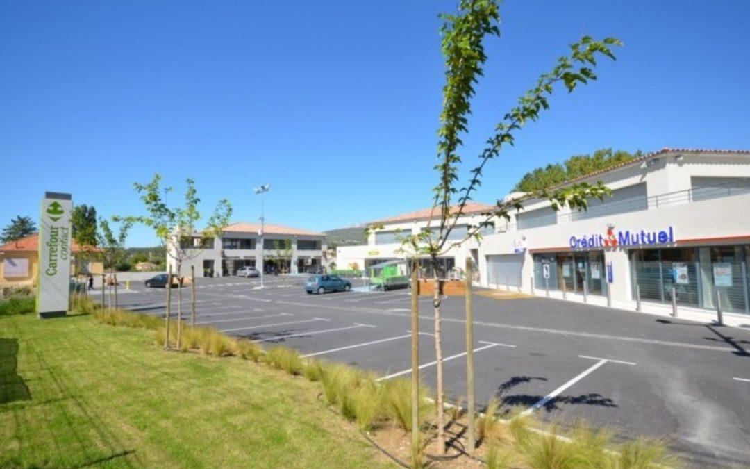 Centre Commercial canton Vert