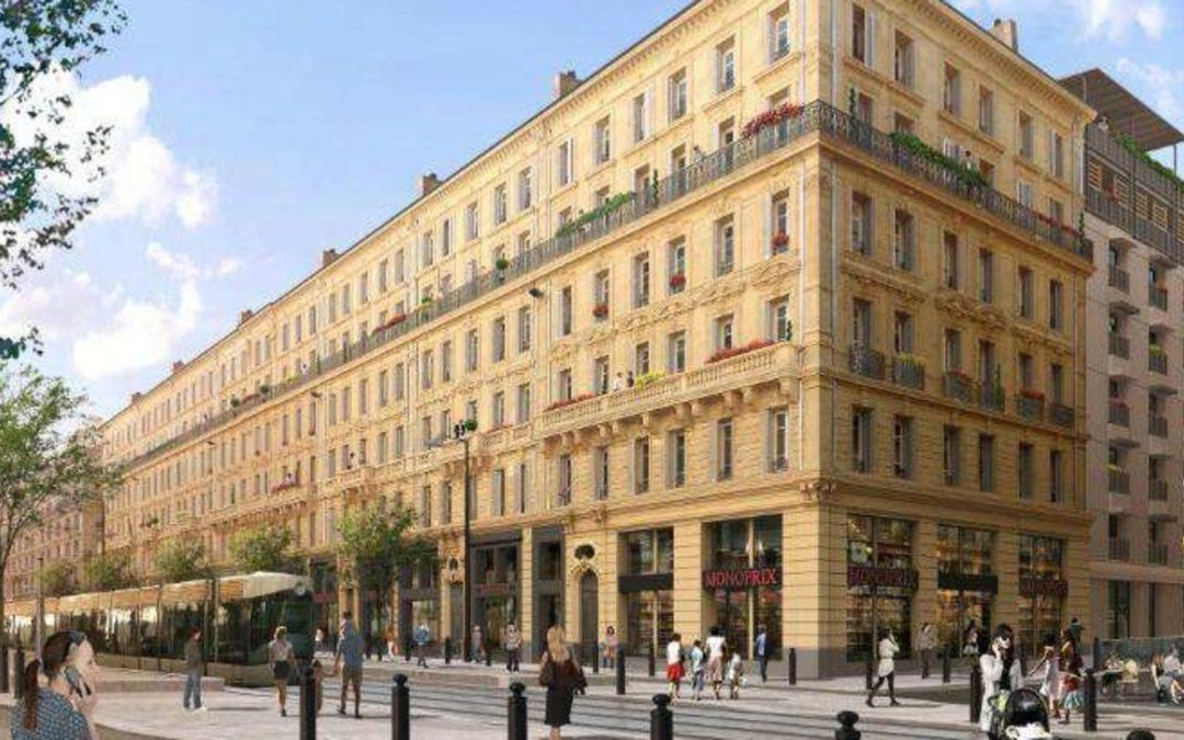 Réhabilitation Rue de la République à Marseille  (Projet Euroméditerranée)