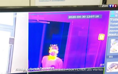 Exemple d'application des caméras thermiques dans un EHPAD (avec notre partenaire fabricant DAHUA)