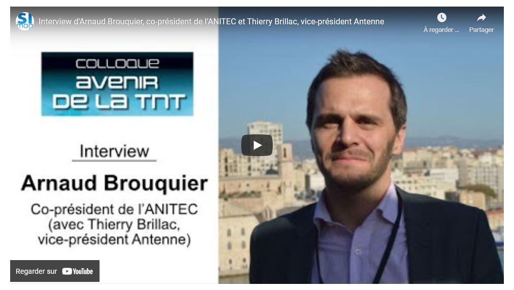 Colloque de l'« Avenir de la TNT » ! – Interview de Arnaud BROUQUIER